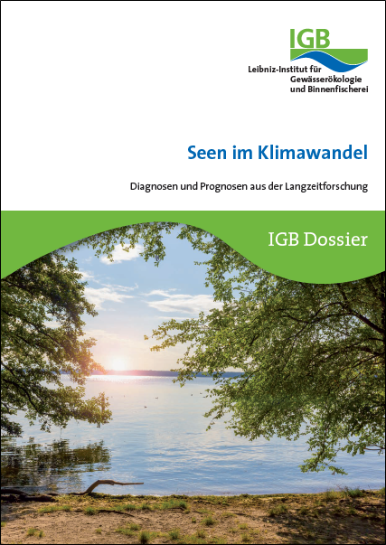 Titelbild IGB Dossier Seen im Klimawandel