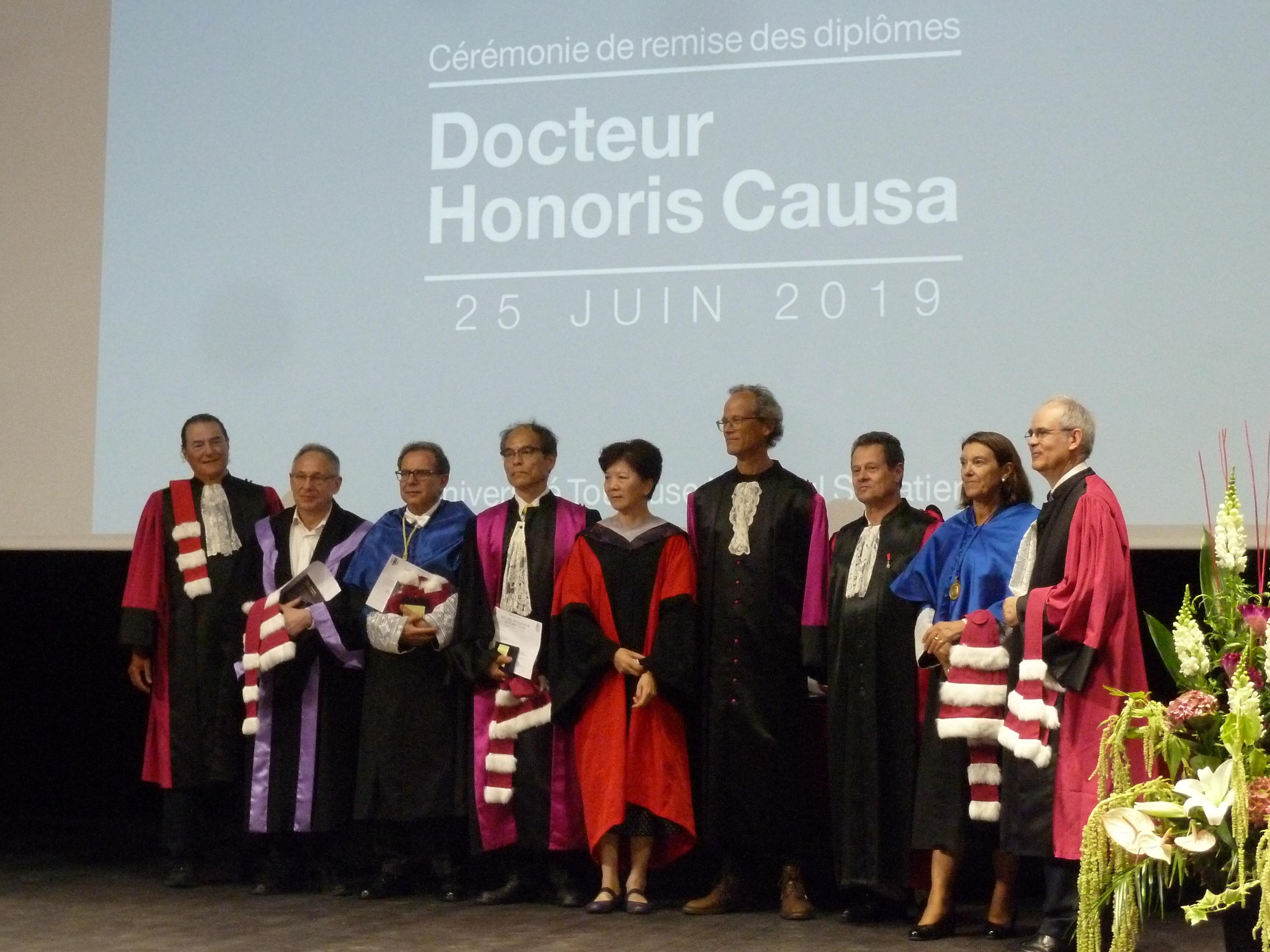 Verleihung der Ehrendoktorwürde in Toulouse