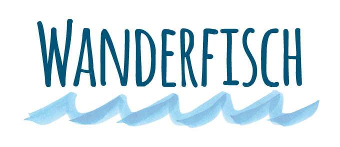 Wanderfisch-Logo