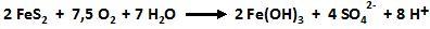 chemische Gleichung Sulfatbildung